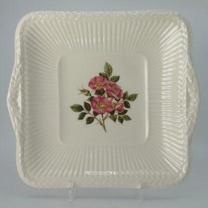 Wedgwood Briar Rose Gebakschaal Vierkant 25,5 cm