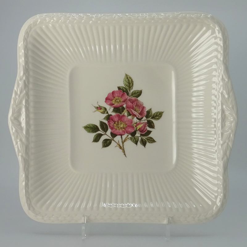 Wedgwood Briar Rose Pastry Bowl Square 25.5cm