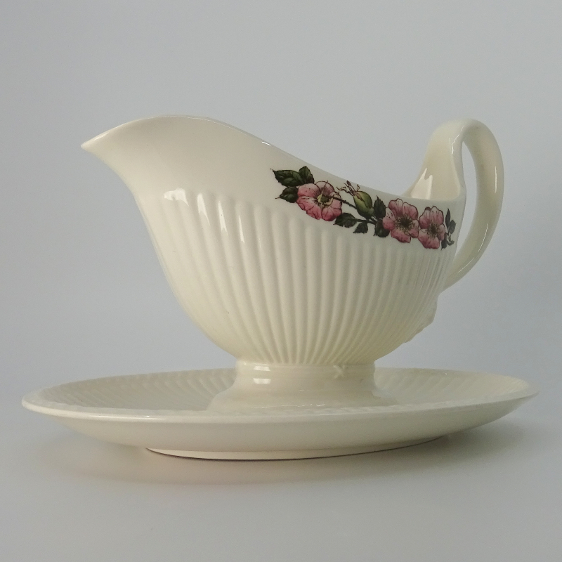 Wedgwood Briar Rose Sauce Bowl on Fixed Dish