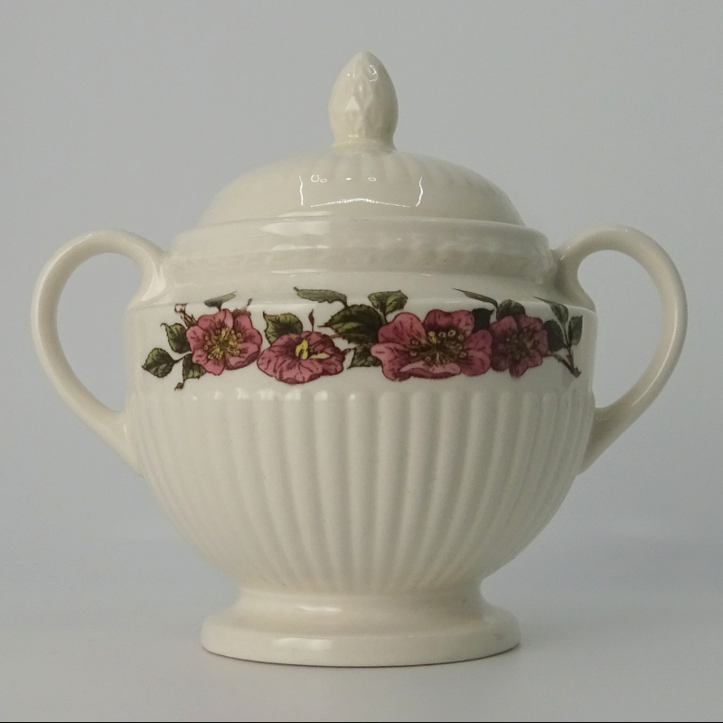 Wedgwood Briar Rose Sugar Pot