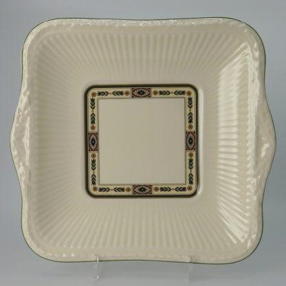 Wedgwood Carlton Gebakschaal Vierkant 25,5 cm