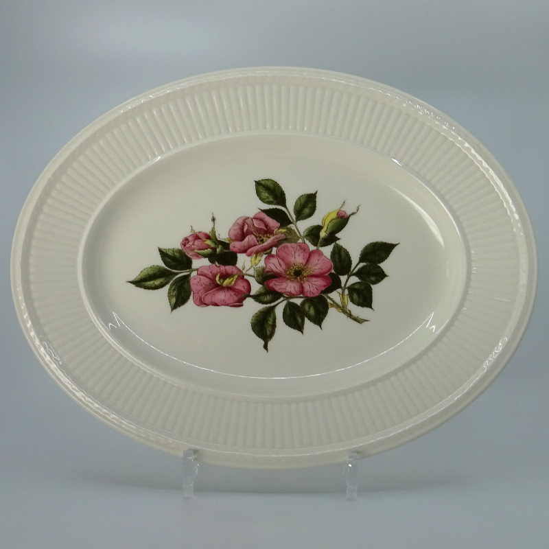 Wedgwood Briar Rose Serving Bowl Oval 35 cm