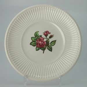 Wedgwood Moss Rose Bord voor Theepot
