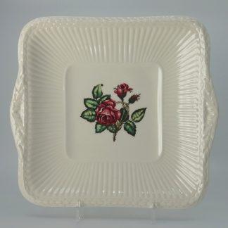 Wedgwood Moss Rose Gebakschaal Vierkant 25,5 cm