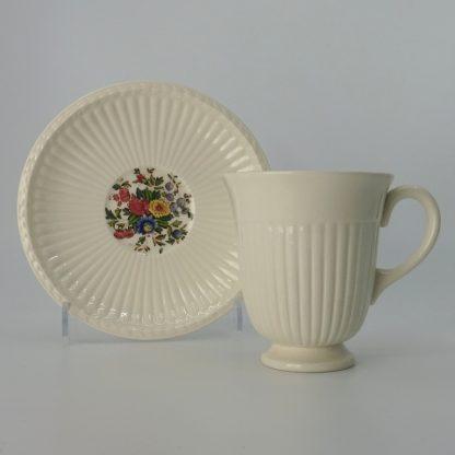Wedgwood Conway Koffiekop met Schotel