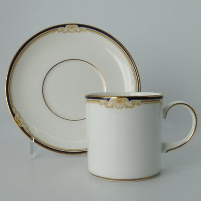Wedgwood Cavendish Koffiekop Can met Schotel