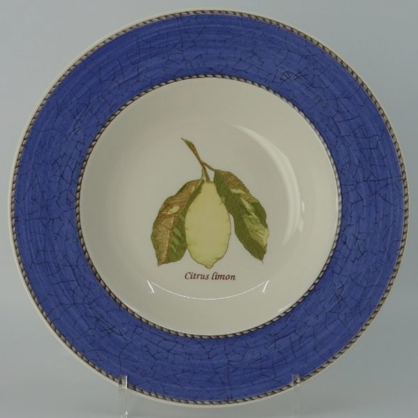 Wedgwood Sarah's Garden Diep Bord 23 cm Blauw