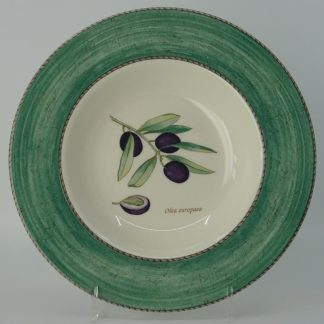 Wedgwood Sarah's Garden Diep Bord 23 cm Groen