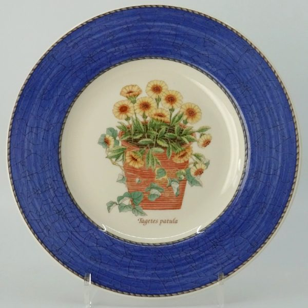 Wedgwood Sarah's Garden Ontbijtbord 21 cm Blauw