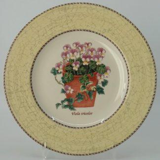 Wedgwood Sarah's Garden Ontbijtbord 21 cm Geel