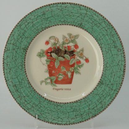 Wedgwood Sarah's Garden Ontbijtbord 21 cm Groen
