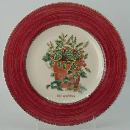 Wedgwood Sarah's Garden Ontbijtbord 21 cm Rood