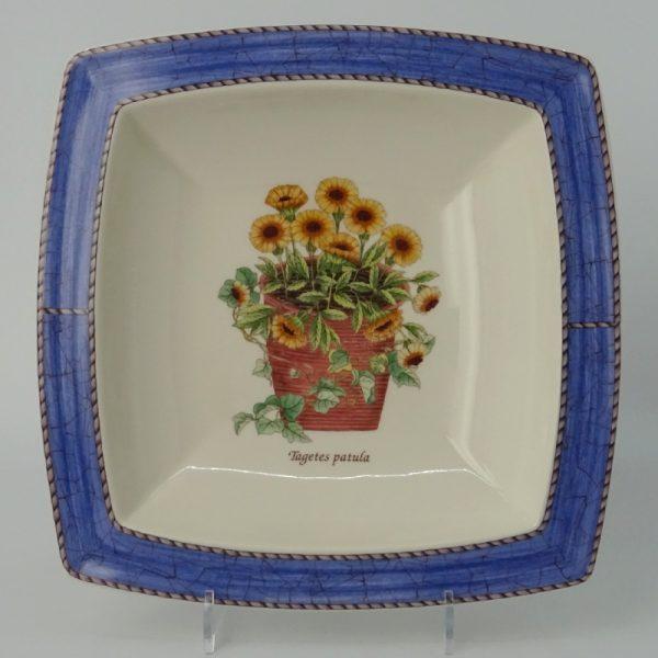 Wedgwood Sarah's Garden Serveerschaal 20 cm Blauw