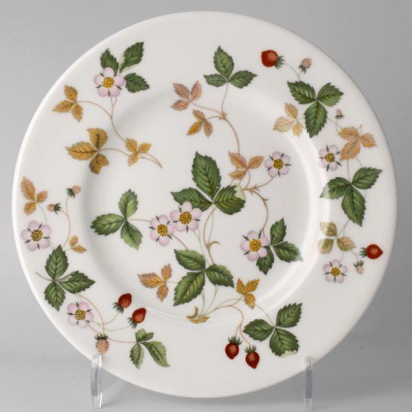Wedgwood Wild Strawberry Gebaksbord 15.5 cm Wit