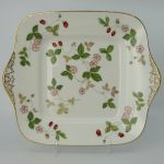 Wedgwood Wild Strawberry Gebakschaal Vierkant 27,5 cm