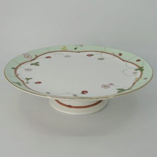 Wedgwood Wild Strawberry Gebakstandaard 27 cm