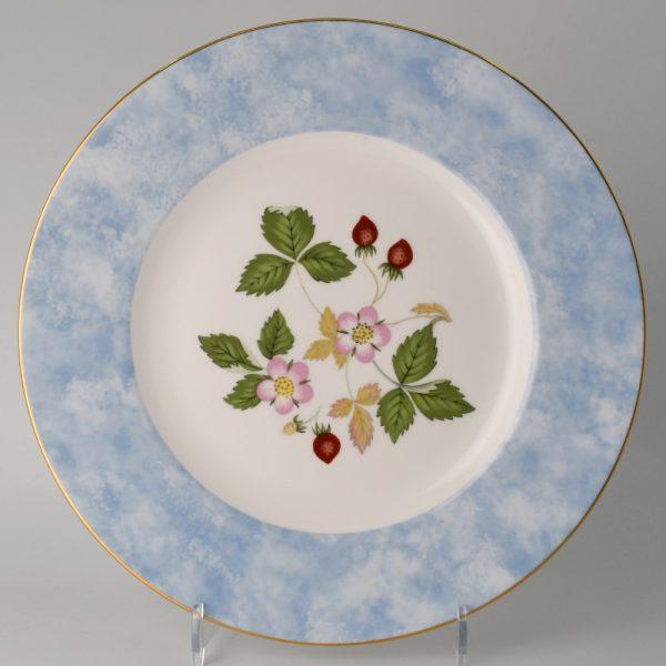 Wedgwood Wild Strawberry Lunchbord 20.5 cm Blauw
