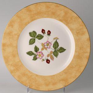 Wedgwood Wild Strawberry Lunchbord 20.5 cm Geel