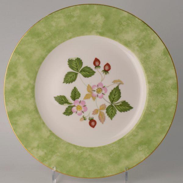 Wedgwood Wild Strawberry Lunchbord 20.5 cm Groen