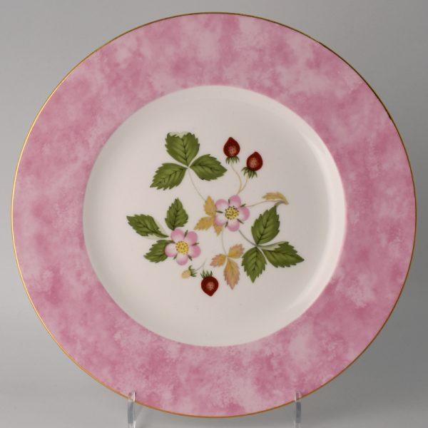 Wedgwood Wild Strawberry Lunchbord 20.5 cm Roze