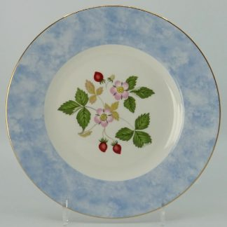 Wedgwood Wild Strawberry Lunchbord 20,5 cm Blauw