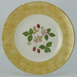 Wedgwood Wild Strawberry Lunchbord 20,5 cm Geel