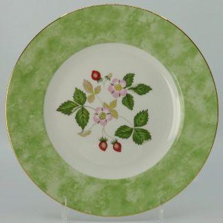 Wedgwood Wild Strawberry Lunchbord 20,5 cm Groen