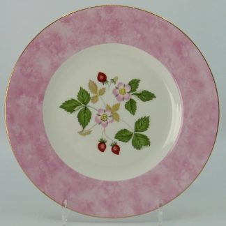Wedgwood Wild Strawberry Lunchbord 20,5 cm Roze
