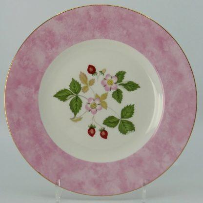 Wedgwood Wild Strawberry Lunchbord 20,5 cm Roze