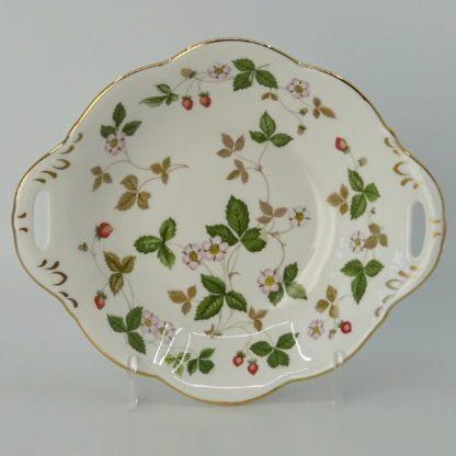 Wedgwood Wild Strawberry Serveerschaal 19,5 cm Goud