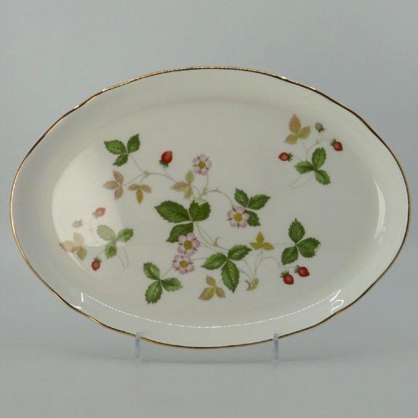 Wedgwood Wild Strawberry Serveerschaal Ovaal 24 cm