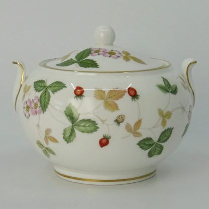 Wedgwood Wild Strawberry Suikerpot Laag