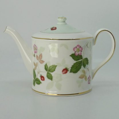 Wedgwood Wild Strawberry Theepot Klein