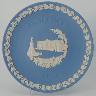 Wedgwood Jasperware Bord Kerstmis 1979