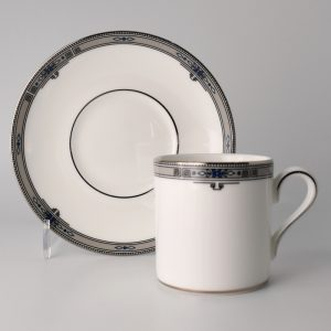 Wedgwood Amherst Espressokop 80 ml met Schotel