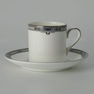 Wedgwood Amherst Espressokop met Schotel