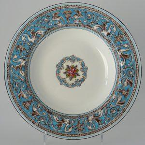 Wedgwood Florentine Turquoise Diep Bord 20 cm