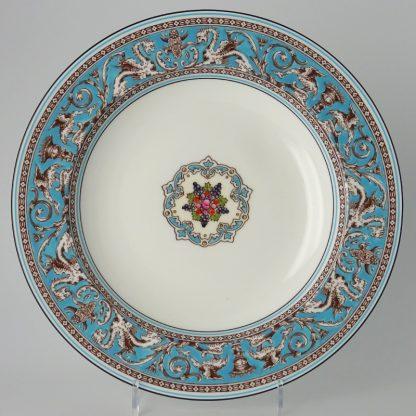 Wedgwood Florentine Turquoise Diep Bord 23 cm