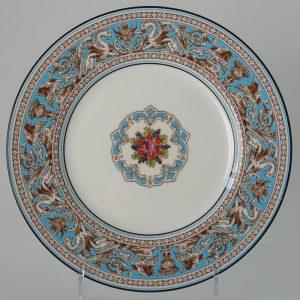 Wedgwood Florentine Turquoise Gebaksbord 17.5 cm