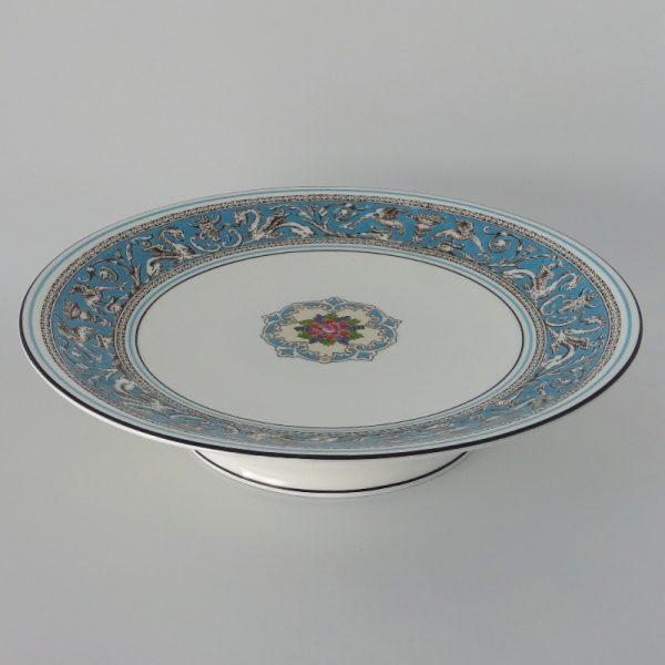 Wedgwood Florentine Turquoise Gebakstandaard 23 cm