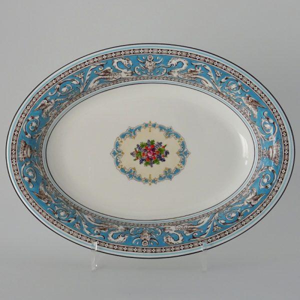 Wedgwood Florentine Turquoise Groenteschaal 25 cm