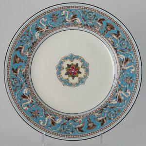 Wedgwood Florentine Turquoise Lunchbord 20 cm