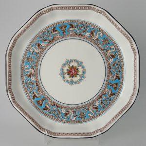 Wedgwood Florentine Turquoise Serveerschaal 24.5 cm