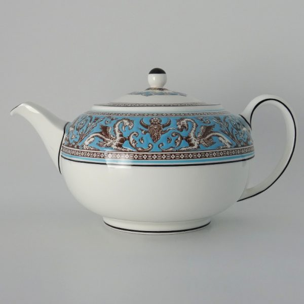 Wedgwood Florentine Turquoise Theepot 1.2 l