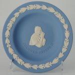 Wedgwood Jasperware Miniatuurbord Joannes Pavlvs II