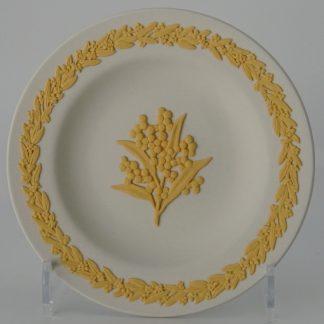 Wedgwood Jasperware Miniatuurbord Gouden Acasia