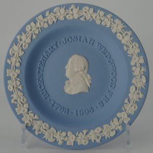 Wedgwood Jasperware Miniatuurbord Josiah Wedgwood 1795 - 1995