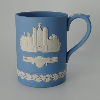 Wedgwood Jasperware Kerstbeker St. James Palace 1980