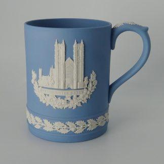 Wedgwood Jasperware Kerstbeker Westminster Abbey 1977