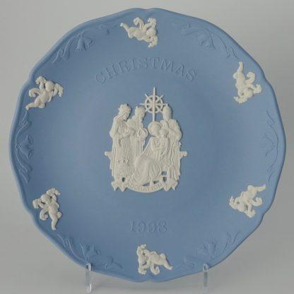 Wedgwood Jasperware Kerstbord 1998